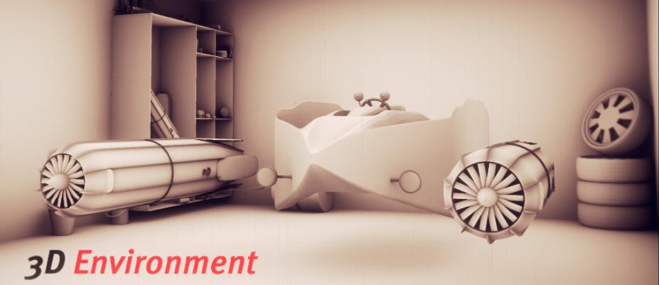 Pod Racer | 3D-Modelling